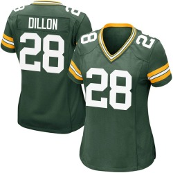 AJ Dillon Green Bay Packers Women's Game Team Color Nike Jersey - Green