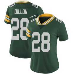 AJ Dillon Green Bay Packers Women's Limited Team Color Vapor Untouchable Nike Jersey - Green