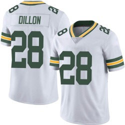 AJ Dillon Green Bay Packers Youth Limited Vapor Untouchable Nike Jersey - White
