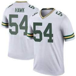 A.J. Hawk Green Bay Packers Men's Color Rush Legend Nike Jersey - White