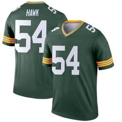 A.J. Hawk Green Bay Packers Men's Legend Nike Jersey - Green