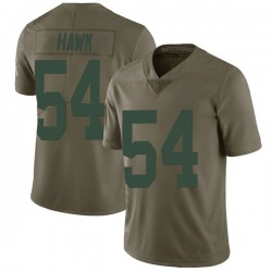 A.J. Hawk Green Bay Packers Men's Limited Salute to Service Nike Jersey - Green