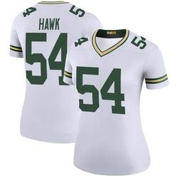 A.J. Hawk Green Bay Packers Women's Color Rush Legend Nike Jersey - White