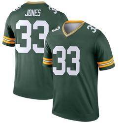 Aaron Jones Green Bay Packers Men's Legend Nike Jersey - Green