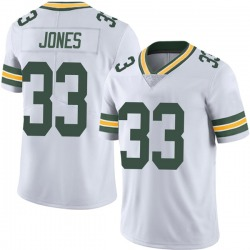 Aaron Jones Green Bay Packers Men's Limited Vapor Untouchable Nike Jersey - White