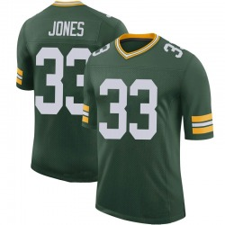 Aaron Jones Green Bay Packers Youth Limited 100th Vapor Nike Jersey - Green