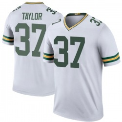 Aaron Taylor Green Bay Packers Men's Color Rush Legend Nike Jersey - White