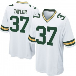 Aaron Taylor Green Bay Packers Men's Game Nike Jersey - White