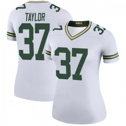 Aaron Taylor Green Bay Packers Women's Color Rush Legend Nike Jersey - White