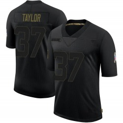 Aaron Taylor Green Bay Packers Youth Limited 2020 Salute To Service Nike Jersey - Black