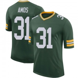 Adrian Amos Green Bay Packers Men's Limited 100th Vapor Nike Jersey - Green