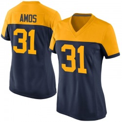 Adrian Amos Green Bay Packers Women's Game Alternate Nike Jersey - Navy