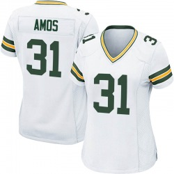 Adrian Amos Green Bay Packers Women's Game Nike Jersey - White