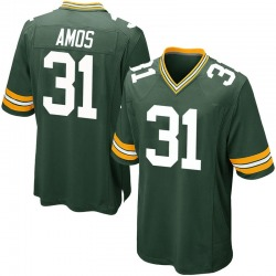 Adrian Amos Green Bay Packers Youth Game Team Color Nike Jersey - Green