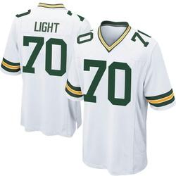 Alex Light Green Bay Packers Men's Game Nike Jersey - White