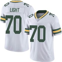 Alex Light Green Bay Packers Men's Limited Vapor Untouchable Nike Jersey - White