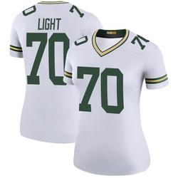 Alex Light Green Bay Packers Women's Color Rush Legend Nike Jersey - White