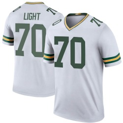 Alex Light Green Bay Packers Youth Color Rush Legend Nike Jersey - White