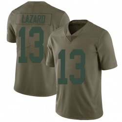 Allen Lazard Green Bay Packers Men's Limited Salute to Service Nike Jersey - Green