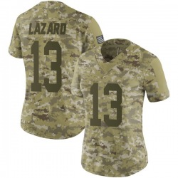 Allen Lazard Green Bay Packers Women's Limited 2018 Salute to Service Nike Jersey - Camo