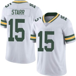 Bart Starr Green Bay Packers Men's Limited Vapor Untouchable Nike Jersey - White
