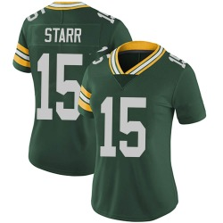 Bart Starr Green Bay Packers Women's Limited Team Color Vapor Untouchable Nike Jersey - Green