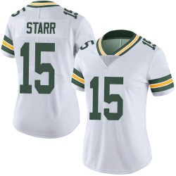 Bart Starr Green Bay Packers Women's Limited Vapor Untouchable Nike Jersey - White