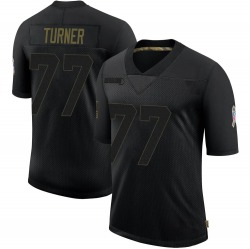 Billy Turner Green Bay Packers Youth Limited 2020 Salute To Service Nike Jersey - Black