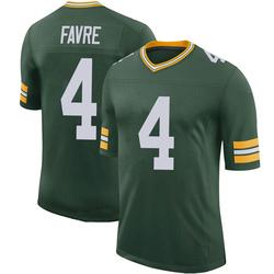 Brett Favre Green Bay Packers Men's Limited 100th Vapor Nike Jersey - Green