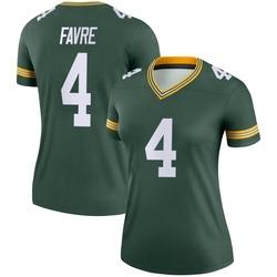Brett Favre Green Bay Packers Women's Legend Nike Jersey - Green