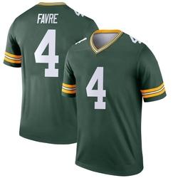 Brett Favre Green Bay Packers Youth Legend Nike Jersey - Green