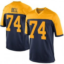 Byron Bell Green Bay Packers Men's Game Alternate Nike Jersey - Navy