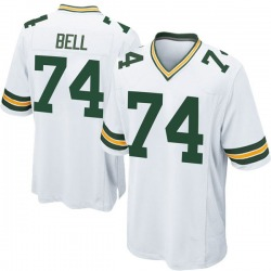 Byron Bell Green Bay Packers Men's Game Nike Jersey - White