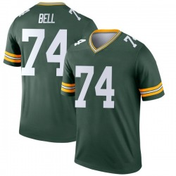 Byron Bell Green Bay Packers Men's Legend Nike Jersey - Green