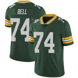 Byron Bell Green Bay Packers Men's Limited Team Color Vapor Untouchable Nike Jersey - Green