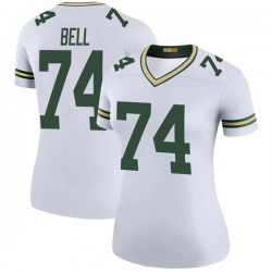 Byron Bell Green Bay Packers Women's Color Rush Legend Nike Jersey - White