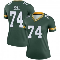 Byron Bell Green Bay Packers Women's Legend Nike Jersey - Green