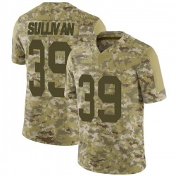 Chandon Sullivan Green Bay Packers Men's Limited 2018 Salute to Service Nike Jersey - Camo
