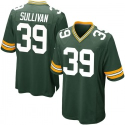 Chandon Sullivan Green Bay Packers Youth Game Team Color Nike Jersey - Green