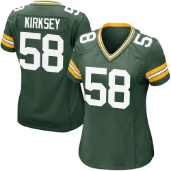 Christian Kirksey Green Bay Packers Women's Game Team Color Nike Jersey - Green