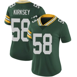 Christian Kirksey Green Bay Packers Women's Limited Team Color Vapor Untouchable Nike Jersey - Green