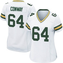 Cody Conway Green Bay Packers Women's Game Nike Jersey - White