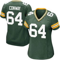 Cody Conway Green Bay Packers Women's Game Team Color Nike Jersey - Green