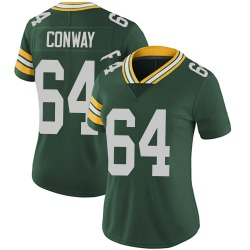 Cody Conway Green Bay Packers Women's Limited Team Color Vapor Untouchable Nike Jersey - Green