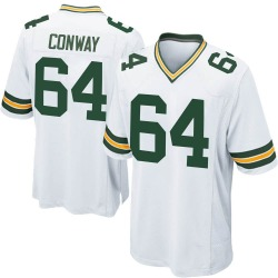 Cody Conway Green Bay Packers Youth Game Nike Jersey - White