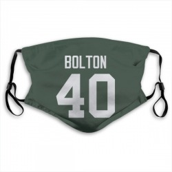 Curtis Bolton Green Bay Packers Reusable & Washable Face Mask