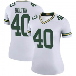 Curtis Bolton Green Bay Packers Women's Color Rush Legend Nike Jersey - White