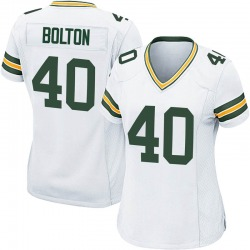 Curtis Bolton Green Bay Packers Women's Game Nike Jersey - White