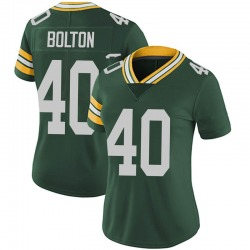 Curtis Bolton Green Bay Packers Women's Limited Team Color Vapor Untouchable Nike Jersey - Green