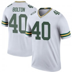 Curtis Bolton Green Bay Packers Youth Color Rush Legend Nike Jersey - White